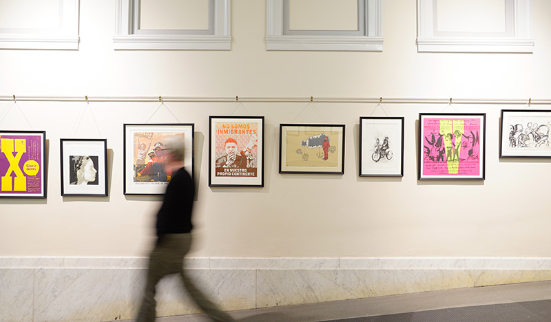 """""""Art for the Asking: 60 Years of the Graphic Arts Loan Collection,"""" in September 2018"""