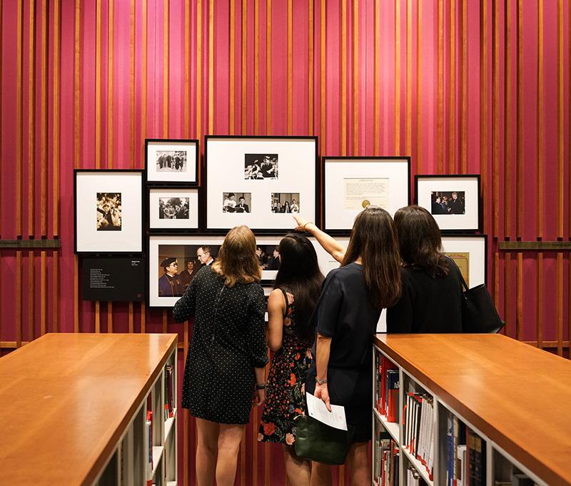 Chancellor Chang-Lin Tien exhibit in October 2018