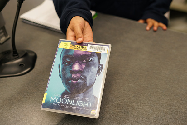 The film 'Moonlight' can be borrowed from MRC